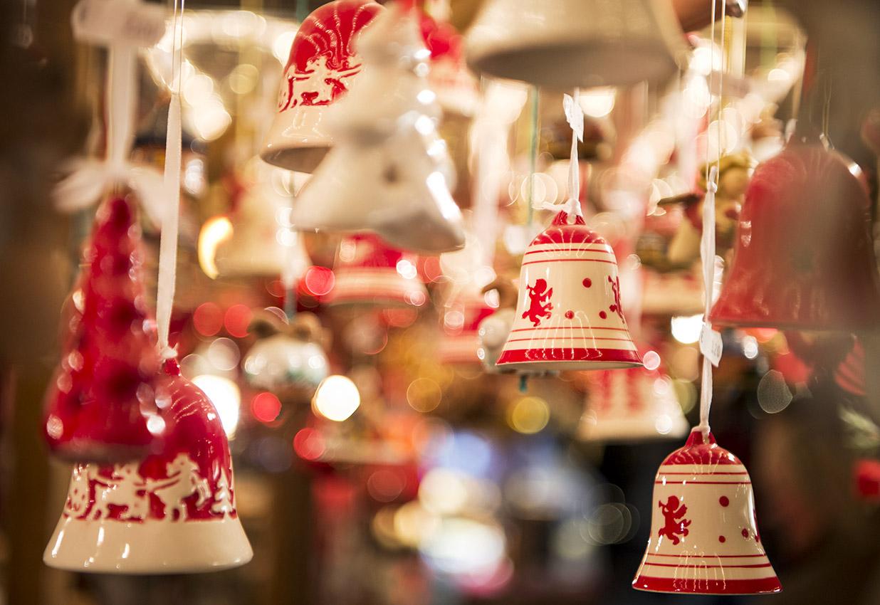 Campane nei mercatini di Natale