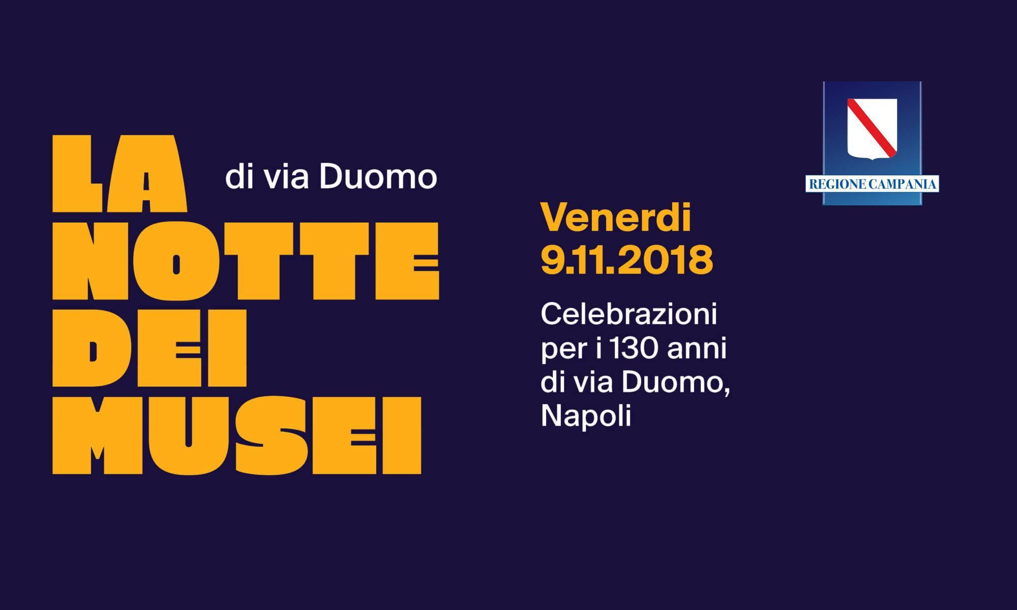 Gratis in Campania questo weekend la Notte dei Musei di via Duomo