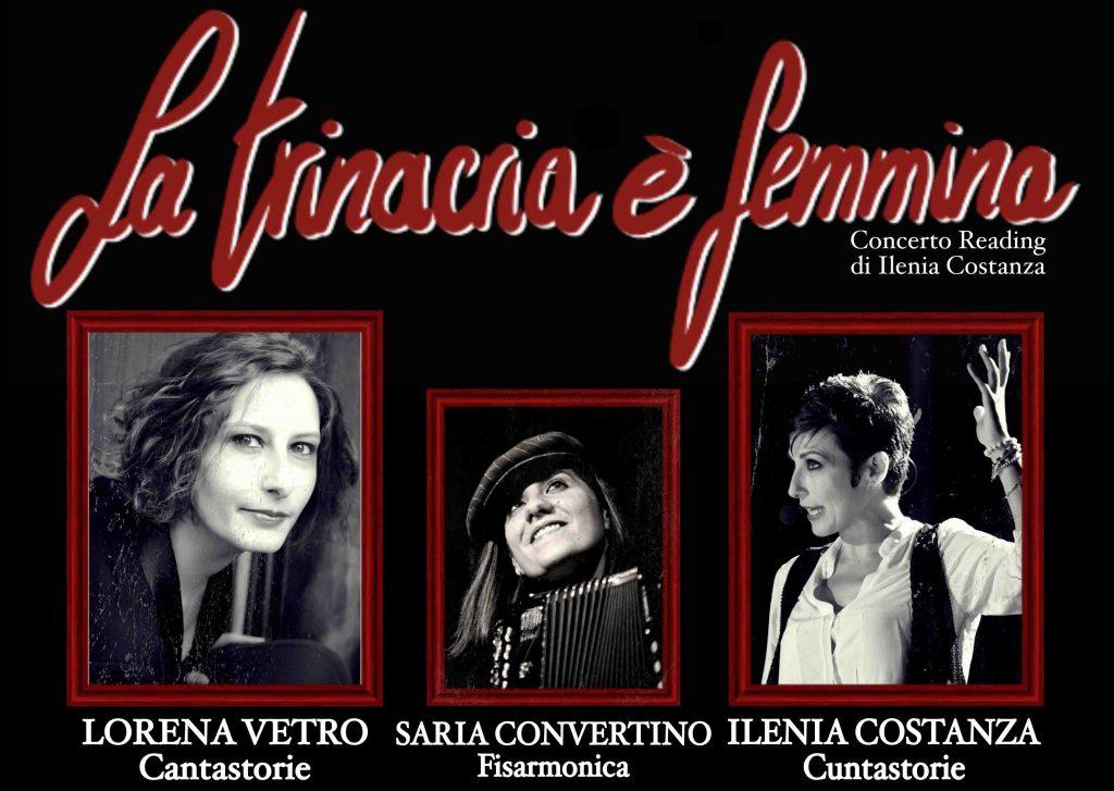 Locandina dello spettacolo La trinacria è femmina