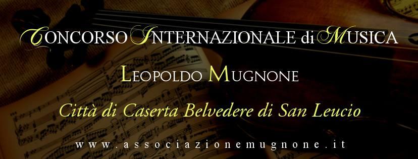 Concorso internazionale di musica Leopoldo Mugnone Caserta belvedere di San Leucio