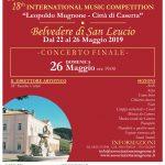"""Concorso Internazionale di Musica """"Leopoldo Mugnone""""."""